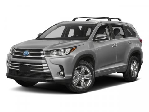 2017 Toyota Highlander Hybrid LE Shoreline Blue PearlAsh V6 35 L Variable 0 miles  FE  All W
