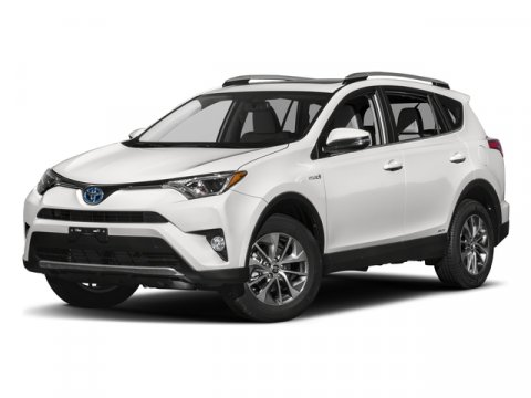 2017 Toyota RAV4 Hybrid Limited BlizzardPearl V4 25 L Variable 1 miles  All Wheel Drive  Po