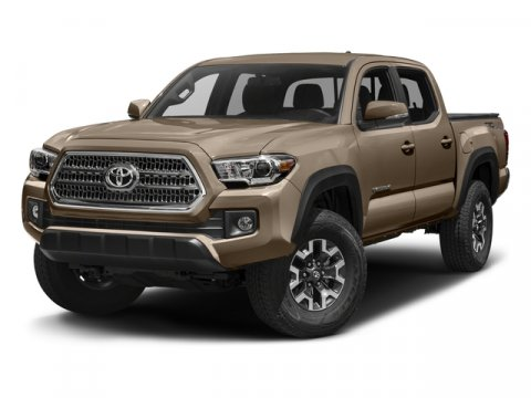 2017 Toyota Tacoma TRD Off Road Super WhiteGraphite wGun Metal V6 35 L Manual 5 miles  CB