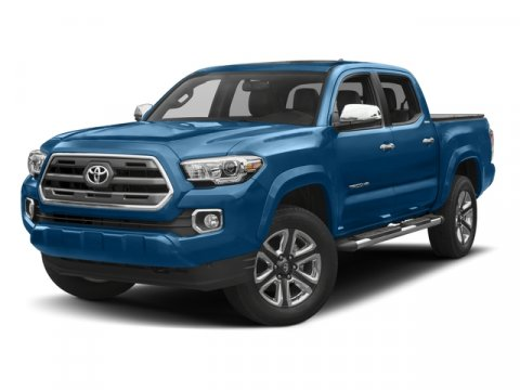 2017 Toyota Tacoma Limited BlackTaupe V6 35 L Automatic 5 miles The Toyota Tacoma delivers un