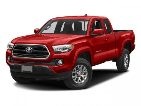 2017 Toyota Tacoma SR5 BlackBlackRed V6 35 L Automatic 5 miles The Toyota Tacoma delivers un
