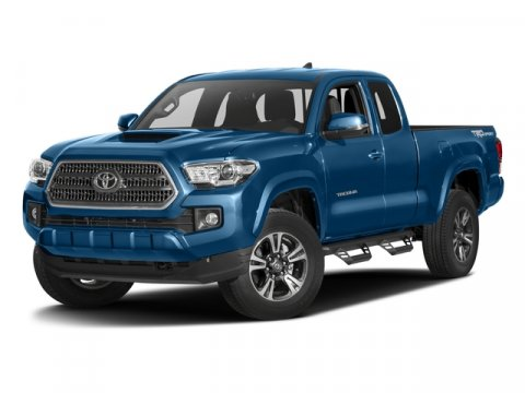 2017 Toyota Tacoma TRD Sport Super WhiteGraphite wGun Metal V6 35 L Manual 5 miles  FE  TO