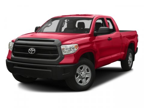 2017 Toyota Tundra SR RedIvory V8 46 L Automatic 5 miles Toyotas full-size truck the Tundra