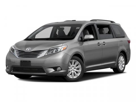 2017 Toyota Sienna XLE Midnight Black MetallicGray V6 35 L Automatic 0 miles  ALLOY WHEEL LOC
