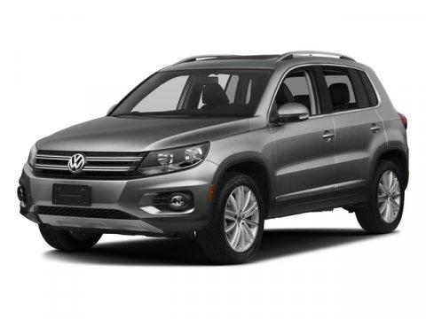 2017 Volkswagen Tiguan Wolfsburg Edition Deep Black PearlBlack V4 20 L Automatic 9 miles The