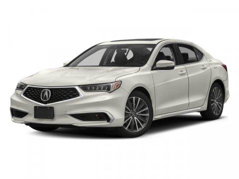 2018 Acura TLX V6 wAdvance Pkg Bellanova White PearlEbony V6 35 L Automatic 6 miles  WH EN Z