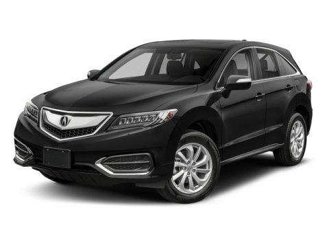 2018 Acura RDX wTechnology Pkg Crystal Black Pearl V6 35 L Automatic 2 miles  All Wheel Driv