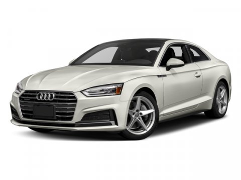 2018 Audi A5 Coupe Premium Plus Florett SilverBlack V4 20 L Automatic 65 miles Designed with