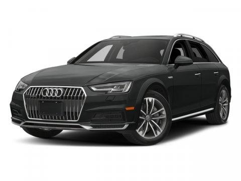 2018 Audi A4 allroad Premium Ibis WhiteBlack V4 20 L Automatic 4 miles The inspiration for th