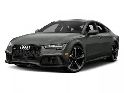 2018 Audi RS 7 performance Panther BlackLunar Silver V8 40 L Automatic 0 miles The 2018 Audi