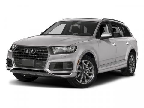 2018 Audi Q7 Premium Plus Carrara WhiteBlack V6 30 L Automatic 10 miles Progressive design an