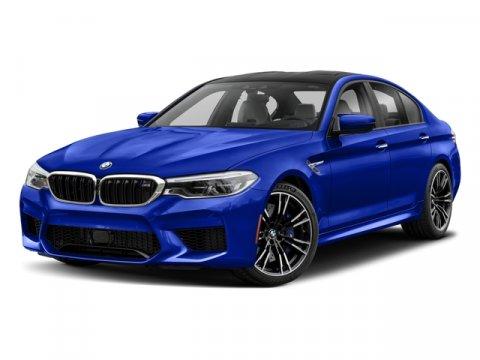 2018 BMW M5 Sedan Donington Gray MetallicSmoke WhiteBlack V8 44 L Automatic 0 miles  WHEELS