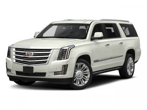2018 Cadillac Escalade ESV Platinum Crystal White TricoatJet Black with Jet Black Accents V8 62