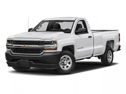 2018 Chevrolet Silverado 1500 Work Truck Summit WhiteDark Ash with Jet Black Interior Accents V8