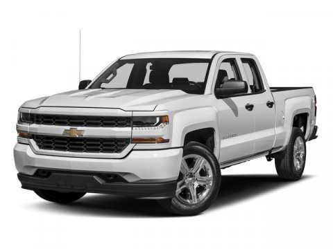 2018 Chevrolet Silverado 1500 Custom Summit WhiteDark Ash with Jet Black Interior Accents V8 53