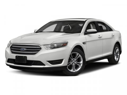 2018 Ford Taurus SEL WHITE PLATINUM TRI-COATDUNE V6 35 L Automatic 4 miles Gasoline No games