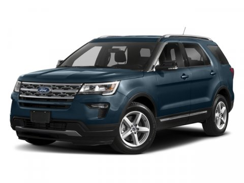 2018 Ford Explorer XLT Blue MetallicEbony V4 23L 4 cyls Automatic 3 miles Optional equipment