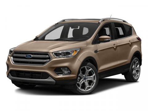 2018 Ford Escape Titanium WHITE GOLD METACharcoal Black V4 20 L Automatic