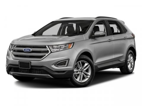 2018 Ford Edge SEL White Platinum Metallic Tri-CoatLd Leather-Trimmed Seats Dune V6 35 L Automa