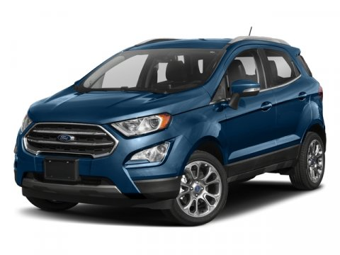 2018 Ford EcoSport Titanium Diamond White4M Leather-Trimmed Seats Medium Light Stone V4 20 L Au