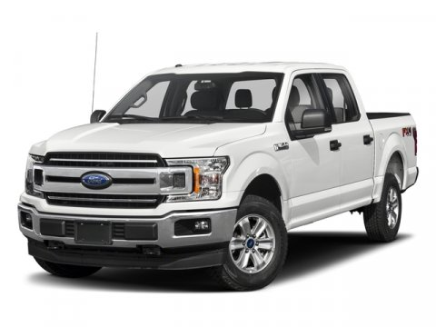 2018 Ford F-150 XLT Oxford WhiteBlk Sport 4040 Console V6 35L V6 Automatic 2 miles Optional