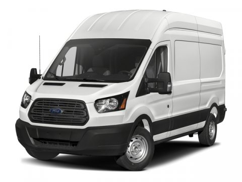 2018 Ford Transit-350 wSliding Pass-Side Cargo Door Oxford WhitePewter Vinyl V6 37L V6 Automat