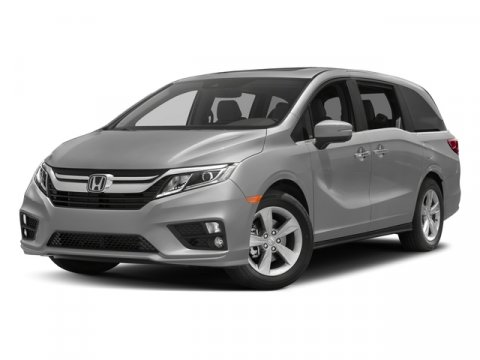 2018 Honda Odyssey EX-L Modern Steel MetallicGRAY LEATHER V6 35 L Automatic 11 miles  ENGINE-