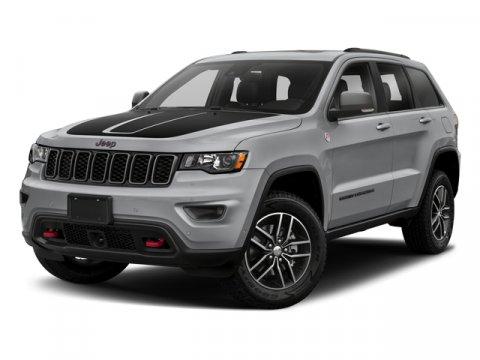 2018 Jeep Grand Cherokee Trailhawk Bright White ClearcoatRuby RedBlack V6 36 L Automatic 0 mi