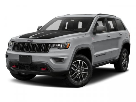 2018 Jeep Grand Cherokee Trailhawk Granite Crystal Metallic ClearcoatRuby RedBlack V8 57 L Aut