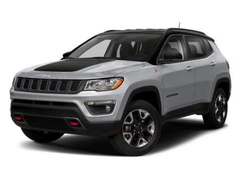 2018 Jeep Compass Trailhawk Granite Crystal Metallic ClearcoatRuby RedBlack V4 24 L Automatic