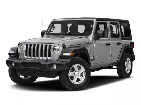 2018 Jeep Wrangler Unlimited Sport S Bright White ClearcoatBlack V6 36 L Manual 0 miles Check