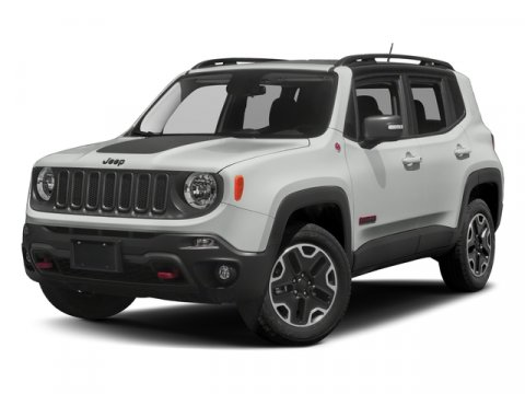 2018 Jeep Renegade Trailhawk Alpine WhiteBlack V4 24 L Automatic 0 miles Alpine White 2018 Je