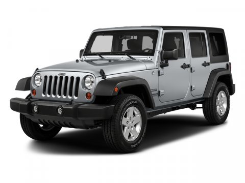2018 Jeep Wrangler JK Unlimited Sport S Bright White ClearcoatBlack V6 36 L Automatic 2 miles
