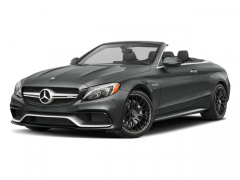 2018 Mercedes AMG C 63 Cabriolet Selenite Grey MBlack Mb Tex Dn V8 40 L Automatic 6 miles The