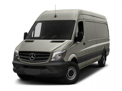 2018 Mercedes Sprinter Cargo Van Arctic WhiteTunja Black V6 30 L Automatic 10 miles At Merced
