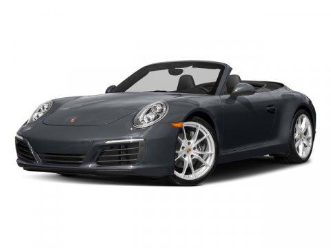 2018 Porsche 911 Carrera Cabriolet WhiteSTD BLK V6 30 L Automatic 0 miles Price plus govern