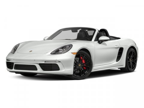 2018 Porsche 718 Boxster S WhiteLTHR BLKCHALK V4 25 L Automatic 5 miles Price plus governm