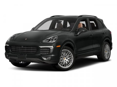 2018 Porsche Cayenne Platinum Edition BLACKSTD BLK V6 36 L Automatic 18 miles Still the grea