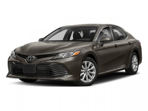 2018 Toyota Camry LE 0218Midnight Black MetallicBlack V4 25 L Automatic 5 miles  ALL WEATHER