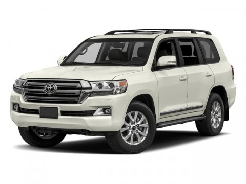 2018 Toyota Land Cruiser 0070Blizzard PearlTerra V8 57 L Automatic 34 miles  SPECIAL COLOR -