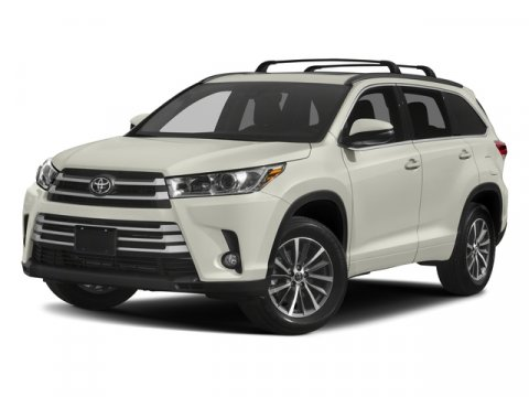2018 Toyota Highlander XLE 0070Blizzard PearlAsh V6 35 L Automatic 5 miles  MUDGUARDS TMS