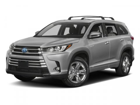 2018 Toyota Highlander Hybrid XLE Blizzard PearlAlmond V6 35 L Variable 85 miles  All Wheel D