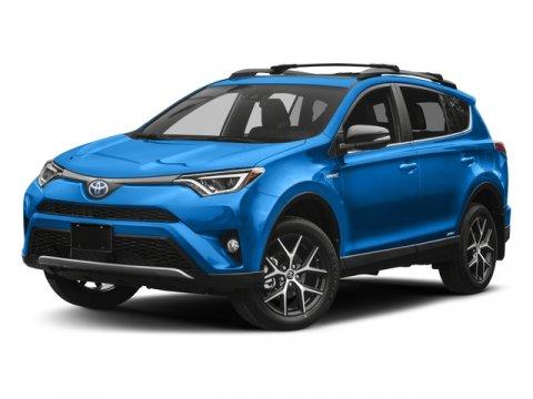 2018 Toyota RAV4 Hybrid SE 004WhiteBlack V4 25 L Variable 45 miles  All Wheel Drive  Power
