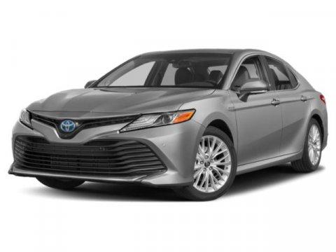 2019 Toyota Camry Hybrid XLE Blue Streak MetallicBlack V4 25 L Variable 0 miles  DA  FE  HL