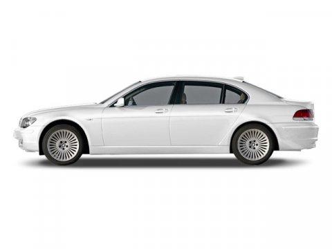 2008 BMW 7 Series 750Li PREMIUM SOUND PKG Alpine WhiteBlack V8 48L Automatic 63908 miles  P