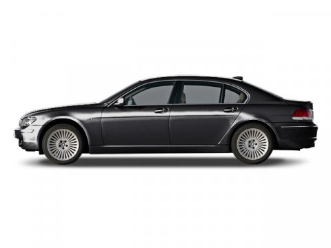 2008 BMW 7 Series 750Li Black V8 48L Automatic 89018 miles  Traction Control  Stability Cont