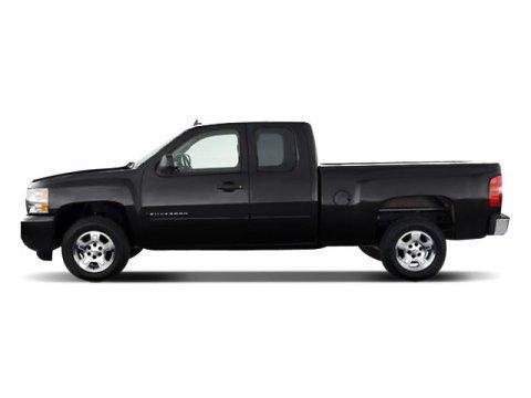 2008 Chevrolet Silverado 1500 Black V8 53L Automatic 50098 miles  Tow Hooks  Four Wheel Drive