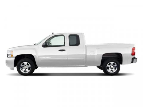 2008 Chevrolet Silverado 1500 Work Truck Summit White V6 43L Automatic 221396 miles  Rear Whee