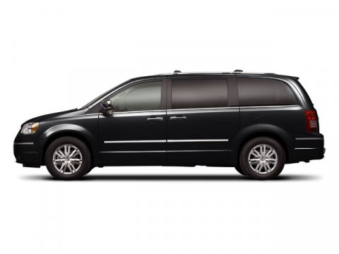 2008 Chrysler Town  Country Limited Brilliant Black Crystal PrlGray V6 40L Automatic 69837 mil