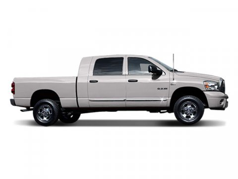 2008 Dodge Ram 1500 Laramie Bright Silver Metallic V8 57L Automatic 74755 miles  Four Wheel Dr
